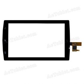 #130990E1V0.3-5 Digitizer Glass Touch Screen Replacement for 7 Inch MID Tablet PC