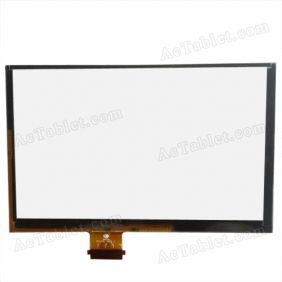 TPC1591 VER2.0 VER1.0 Digitizer Glass Touch Screen Replacement for 7 Inch MID Tablet PC