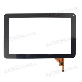 JC1237 Digitizer Glass Touch Screen Replacement for 9 Inch MID Tablet PC