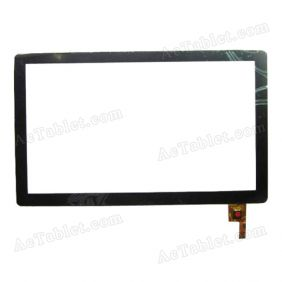 04-1010-0464 V4 Digitizer Glass Touch Screen Replacement for 10.1 Inch MID Tablet PC