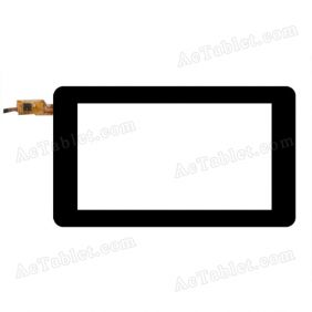 TCl07016XCJ-C-V0.1 Digitizer Glass Touch Screen Replacement for 7 Inch MID Tablet PC