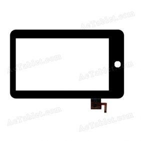 ZK-6029-FPC Digitizer Glass Touch Screen Replacement for 7 Inch MID Tablet PC