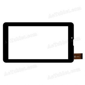 C2-HY0091A Digitizer Glass Touch Screen Replacement for 7 Inch MID Tablet PC