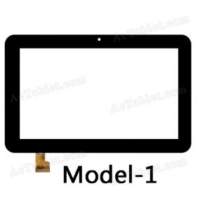 TPC0509 VER6.0 Digitizer Glass Touch Screen Replacement for 7 Inch MID Tablet PC