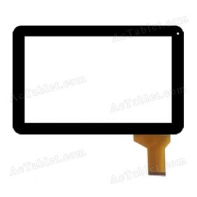 LHJ171-F10A1 Digitizer Glass Touch Screen Replacement for 10.1 Inch MID Tablet PC