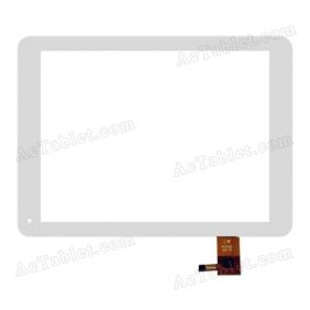 HY TPC51105 Digitizer Glass Touch Screen Replacement for 9.7 Inch MID Tablet PC
