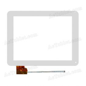 EST 04-0970-0388 V4 Digitizer Glass Touch Screen Replacement for 9.7 Inch MID Tablet PC
