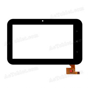 EST-0700-0379 V3 Digitizer Glass Touch Screen Replacement for 7 Inch MID Tablet PC
