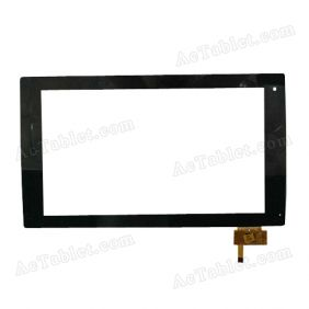 RS10F130 V1.3 Digitizer Glass Touch Screen Replacement for 10.1 Inch MID Tablet PC