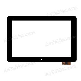UK101005G-01 FPC(V0.1) Digitizer Glass Touch Screen Replacement for 10.1 Inch MID Tablet PC