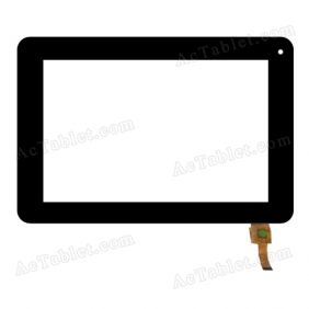 04-0700-0500 V1 Digitizer Glass Touch Screen Replacement for 7 Inch MID Tablet PC