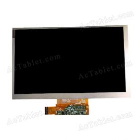 Replacement BA070WS1-400 FPC 47-7520075 LCD Display Screen for 7 Inch Android Tablet PC