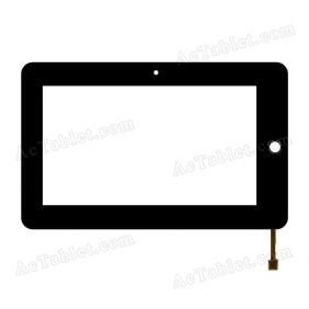 C070T1286A-A0 Digitizer Glass Touch Screen Replacement for 7 Inch MID Tablet PC