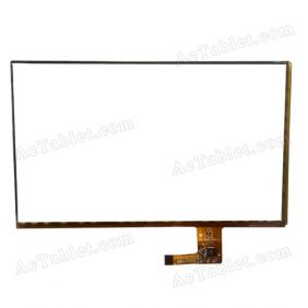 RS7F1609031PDV1.2 Digitizer Glass Touch Screen Replacement for 7 Inch MID Tablet PC