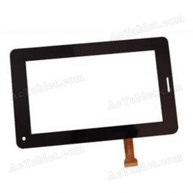 FHX-YL-CG013-01A Digitizer Glass Touch Screen Replacement for 7 Inch MID Tablet PC