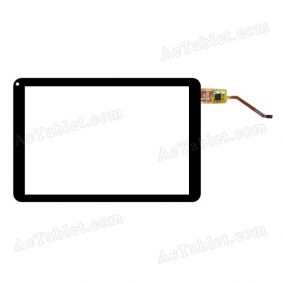 Digitizer Touch Screen Replacement for NuVision TM800A510L Intel Atom Z3735G 8 Inch Tablet PC