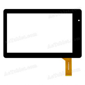 RG070-02-0011-X Digitizer Glass Touch Screen Replacement for 7 Inch MID Tablet PC