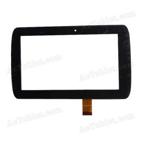 MJK-0137 Digitizer Glass Touch Screen Replacement for 7 Inch MID Tablet PC