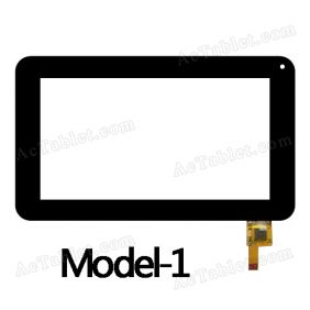 DR-F-07029-V2 Digitizer Glass Touch Screen Replacement for 7 Inch MID Tablet PC