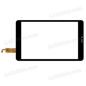 XCL-S80022B-FPC1.0 Digitizer Glass Touch Screen Replacement for 8 Inch MID Tablet PC