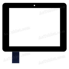 7001-3058 Digitizer Glass Touch Screen Replacement for 7 Inch MID Tablet PC