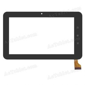 TYF1060 Digitizer Glass Touch Screen Replacement for 7 Inch MID Tablet PC