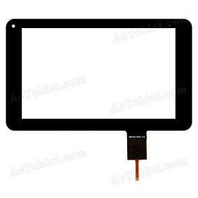 MH070X-NV02 V.0 Digitizer Glass Touch Screen Replacement for 7 Inch MID Tablet PC
