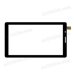 LHJ-0410FPCV2 ZH Digitizer Glass Touch Screen Replacement for 7 Inch MID Tablet PC