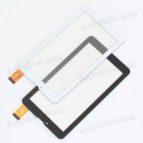 HS1283A V0 0212 Digitizer Glass Touch Screen Replacement for 7 Inch MID Tablet PC