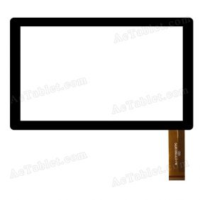 WJ-CTP70010FPC Digitizer Glass Touch Screen Replacement for 7 Inch MID Tablet PC