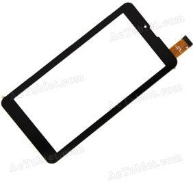 CTD FM707101KE Digitizer Glass Touch Screen Replacement for 7 Inch MID Tablet PC