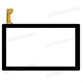 MJK-0123-V1(BXY) Digitizer Glass Touch Screen Replacement for 7 Inch MID Tablet PC