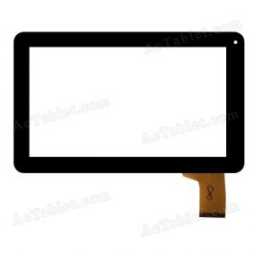 FHF090006 Digitizer Glass Touch Screen Replacement for 9 Inch MID Tablet PC