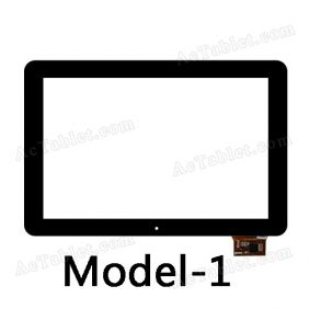 101035-01A-1-V1 Digitizer Glass Touch Screen Replacement for 10.1 Inch MID Tablet PC