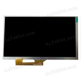 Replacement SQ070CPTHD-FPC LCD Display Screen for 7 Inch Android Tablet PC