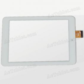 ZK-6043-FPC Digitizer Glass Touch Screen Replacement for 7.9 Inch MID Tablet PC