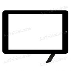 ZJ-02F080003ME-A Digitizer Glass Touch Screen Replacement for 8 Inch MID Tablet PC