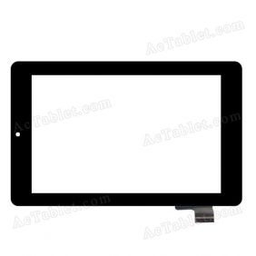 HOTATOUCH C117186B1-DRFPC158T-V1.0 Digitizer Glass Touch Screen Replacement for 7 Inch MID Tablet PC