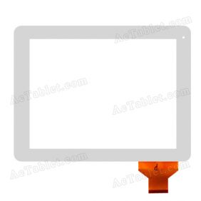 Digitizer Glass Touch Screen Replacement for WayteQ xTAB-100qcr 9.7 Inch Tablet PC