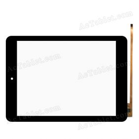 Digitizer Touch Screen Replacement for Mediacom M-MP84 S4 Quad Core 8.0 Inch Tablet PC