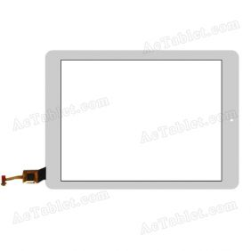 097153R01-V2 Digitizer Glass Touch Screen Replacement for 9.7 Inch MID Tablet PC