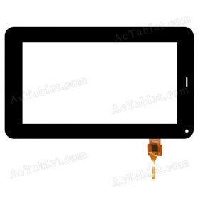 PB70A8403 KDX Digitizer Glass Touch Screen Replacement for 7 Inch MID Tablet PC