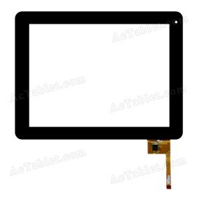 PB97A8505 T970 971 L TP Digitizer Glass Touch Screen Replacement for 9.7 Inch MID Tablet PC