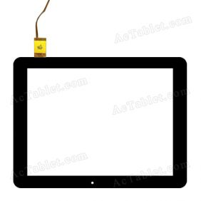 F-WGJ97083-V2 Digitizer Glass Touch Screen Replacement for 9.7 Inch MID Tablet PC