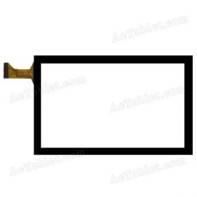 XN1555 RHH Digitizer Glass Touch Screen Replacement for 7 Inch MID Tablet PC