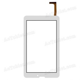 XCL-S70043B-FPC1.0 Digitizer Glass Touch Screen Replacement for 7 Inch MID Tablet PC