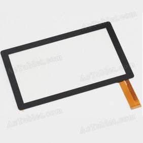 CTP070010-FPC-V1.0 Digitizer Glass Touch Screen Replacement for 7 Inch MID Tablet PC