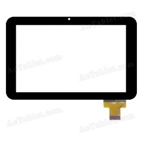 TYF1128V1 Digitizer Glass Touch Screen Replacement for 7 Inch MID Tablet PC