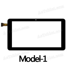 GT09002A Digitizer Glass Touch Screen Replacement for 9 Inch MID Tablet PC