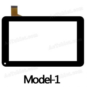 MJK-0208 Digitizer Glass Touch Screen Replacement for 7 Inch MID Tablet PC
